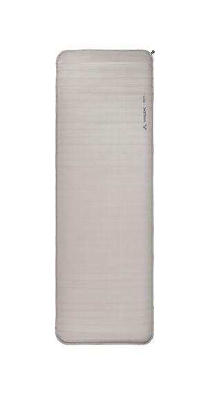 VAUDE Deluxe - Tapis de sol autogonflant - gris